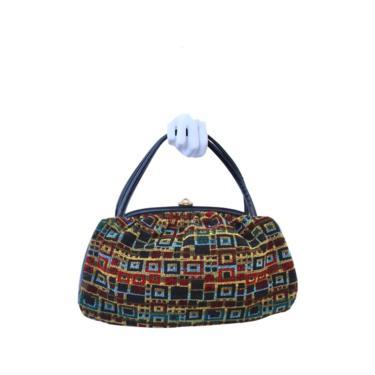1970s Carpet Bag - 1970s Tapestry Purse - Vintage Tapestry Bag - 70s Handbag - Vintage Handbag - Tapestry Purse - Carpet Handbag - 70s Purse by VeraciousVintageCo
