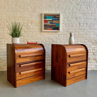 Mid Century MODERN ROSEWOOD CABINETS, a Pair by CIRCA60