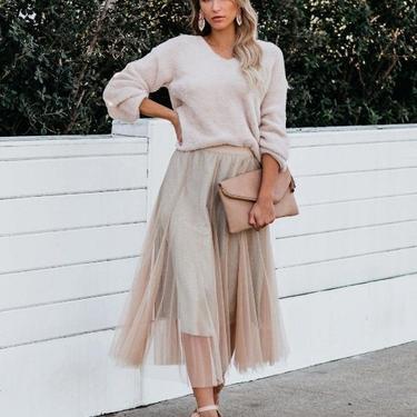 Make a Promise tulle glitter skirt by HeyJanuary