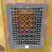 Decorative Metal Grille with Hexagon Pattern [SA]