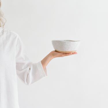 Speckled Porridge Bowl, cereal bowl, stoneware bowl, ceramic bowl, soup bowl by TagliaferroCeramics