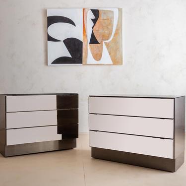 Bronze Mirrored Cabinet by Ello International