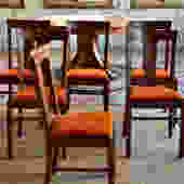 Vintage Oak Chairs – Set of 6