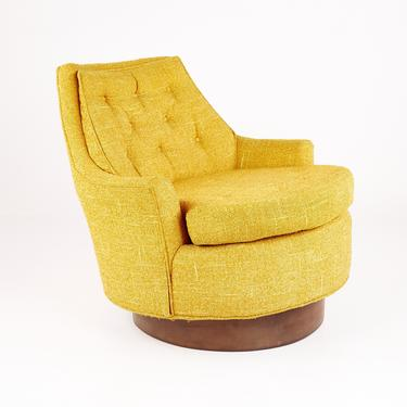 Adrian Pearsall Style Mid Century Swivel Lounge Chair - mcm by ModernHill