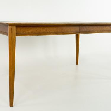 Lane First Edition Mid Century Walnut Dining Table with 2 Leaves - mcm by ModernHill