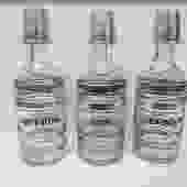 Vintage MCM set of 3 liquor decanters
