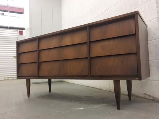 #475: Mid Century Triple Dresser