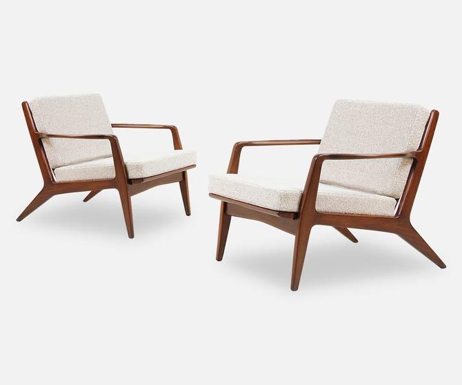 Ib Kofod-Larsen Lounge Chairs for Selig