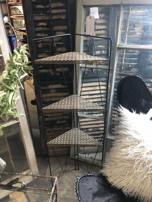 Midcentury Corner Shelf