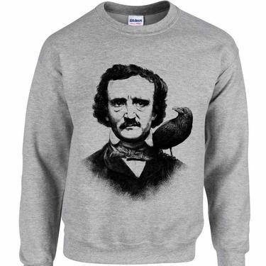 Edgar Allen Poe - Unisex Crewneck Sweatshirt