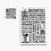 Washington DC Neighborhoods Pot Holder & Tea Towel Set