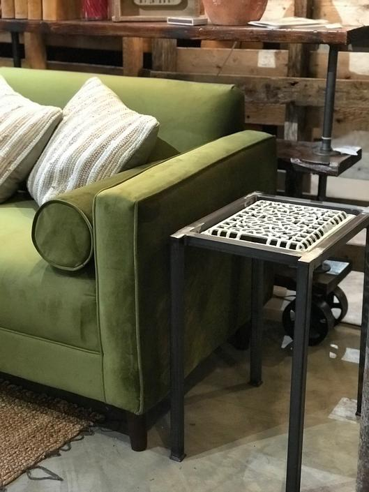 Historic Home Register turned One of a Kind Side Table