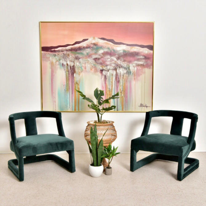 """Leo"" Hunter Green Club Chair"