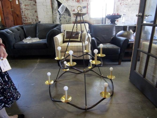 CHOROS TWO TIER CHANDELIER FROM CIRCA LIGHTING