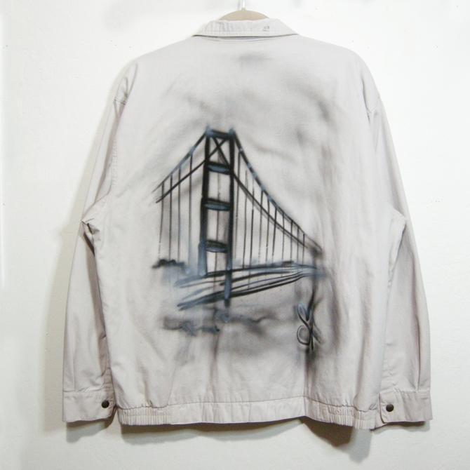 GGB airbrushed khaki jacket