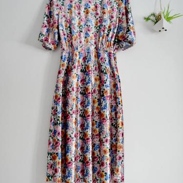 Velvet Flower Dress by shopjoolee