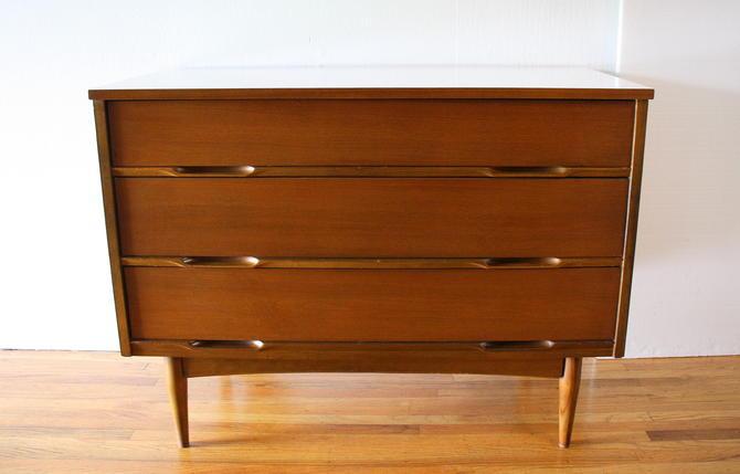 Mid Century Modern Low Dresser