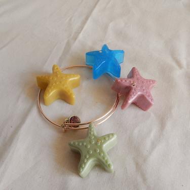 Starfish Seashell Charm Bracelet by SkiinTones