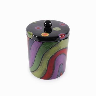 Romy & Clare Ceramic Jar Jasper, IN by VintageInquisitor