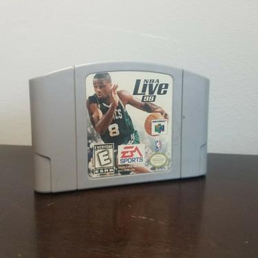 NBA Live 99 (Nintendo 64, 1998) TESTED Working by BellsAndWhistlesEtc