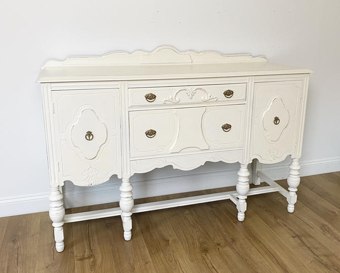 Vintage Jacobean Buffet - Available to Customize by ForeverPinkVintage