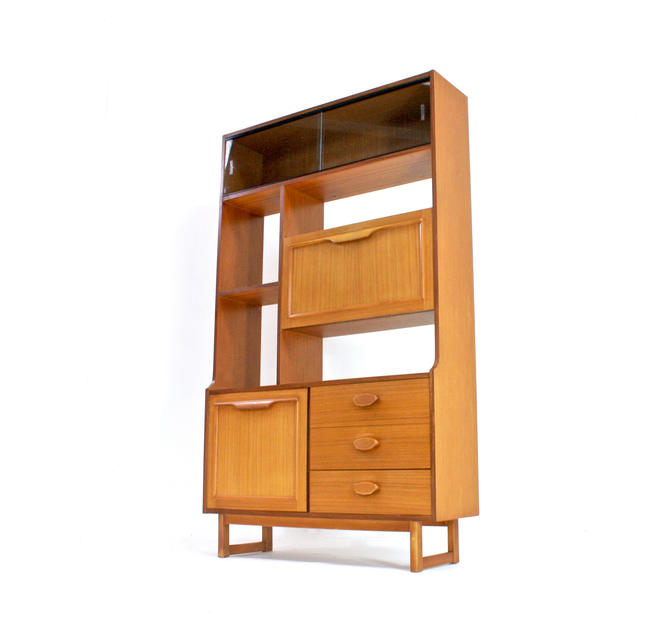 Mid Century Display Cabinet/ Room Divider by Ltd Stonehill of London by SputnikFurnitureLLC