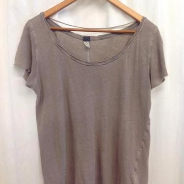 We The Free Size Medium Taupe Top