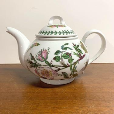 Vintage Portmeirion The Botanic Garden Teapot by OverTheYearsFinds