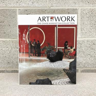 Vintage Art at Work Book Retro 1980s The Chase Manhattan Collection + Marshall Lee + Modern Art + Artists + Hardcover + Coffee Table Book by RetrospectVintage215