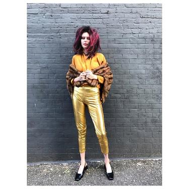 #PegBundy in the house  #vintage #fur wrap #gold #bodysuit and #80s #slingbacks // plus big #wig and #lame #leggings -- come in for 15% off incl costumes this weekend