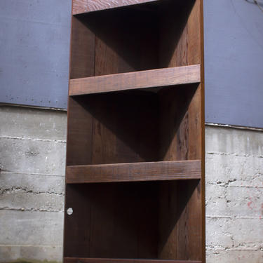 Corner Bookshelf by EvansWoodshopDesign