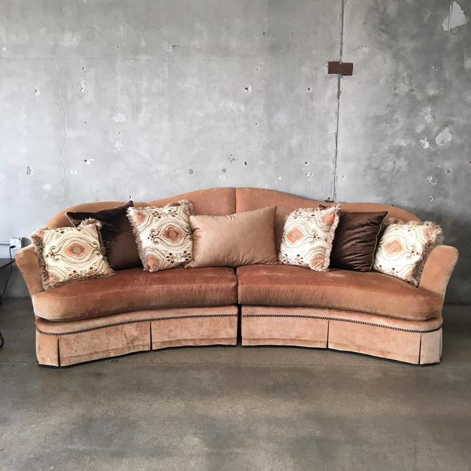 Marge Carson Maritza Two Piece Sofa