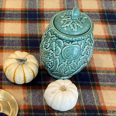 Porta Embossed Vegetable Canister Mushroom Handle by CaminoCollective