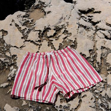 Terra Red Morus Stripes Calobra Shorts