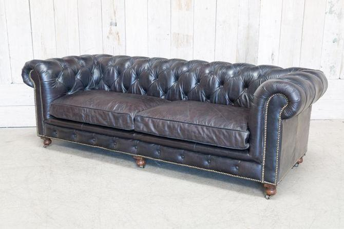 CONRAD SOFA - SADDLE BLACK