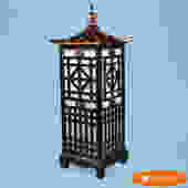 Fretwork Pagoda Floor Lamp