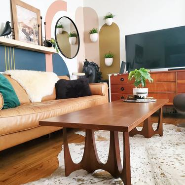 Broyhill Brasilia Coffee Table refinished * SHIPPING NOT FREE * by AndreaPalmaiDesign
