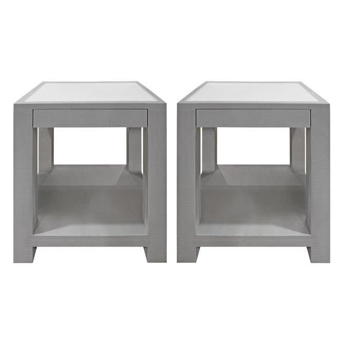 Lobel Originals Pair of Bedside Tables Model 1020 Made-to-Order