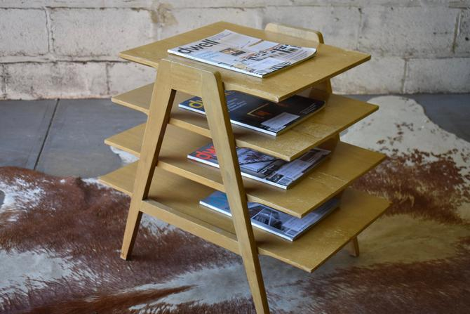 Mid Century Modern TIERED END TABLE by CIRCA60