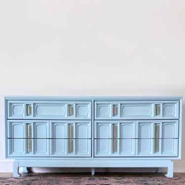 AVAILABLE - Unique Vintage French Blue Dresser by JulieSimpleRedesign