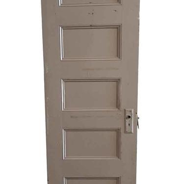Vintage 5 Pane Wood Passage Door 79.25 x 25.75