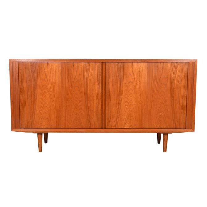 Condo-sized Danish Teak Sideboard \/ Storage \/ Media Cabinet