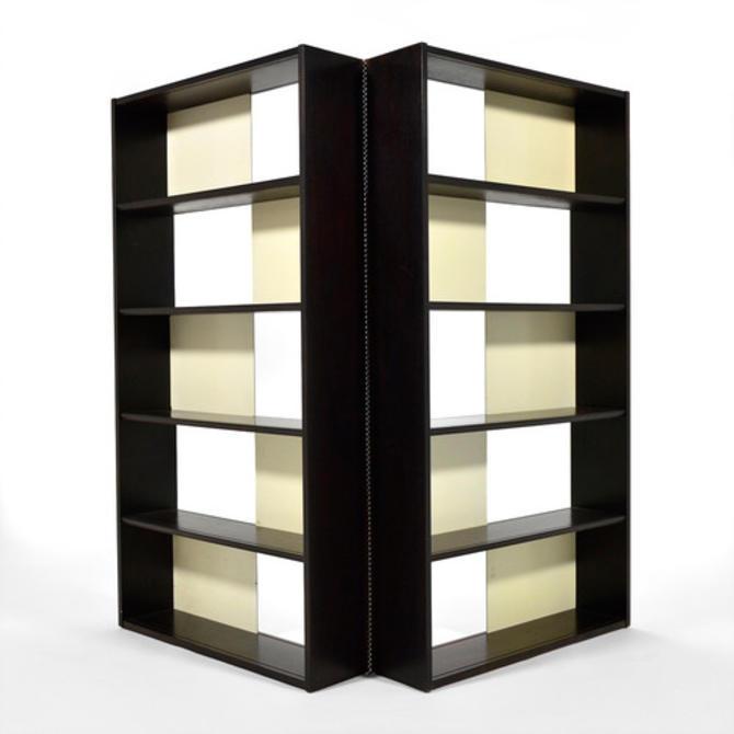 Folding Bookcase/ Display Shelf/ Room Divider