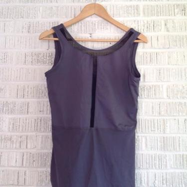 Lululemon Size L Gray & Black Top