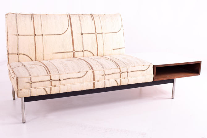 George Nelson for Herman Miller Style Mid Century Sofa Settee and Side Table - mcm by ModernHill