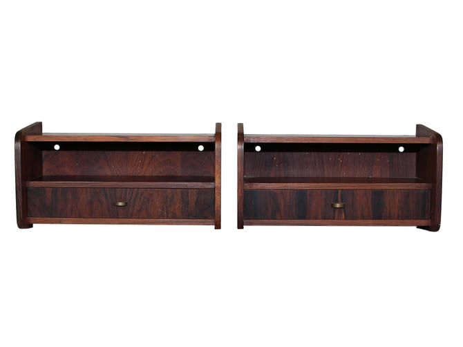Pair of Mid Century Rosewood Night Stands by RetroPassion21