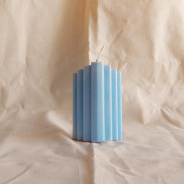 Staire Pillar Candle (Blue) by SkiinTones