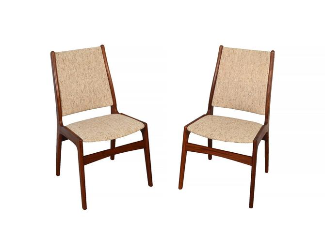 6 Teak Dining Chairs Made by Anderstrup Danish Modern by HearthsideHome
