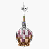 Large Murano Glass Table Lamp by Barovier for Stilnovo