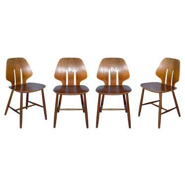 Set of 4 Ejvind A. Johansson Chairs